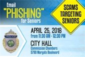 Email Phishing for Seniors - A Meeting to Discuss Scams Targeting Seniors