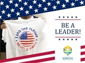 Be a Pledge Leader at a City Commission Meeting
