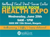 Summer Boom Health Expo on June 20th