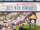 Be a Part of the 4th of July Parade